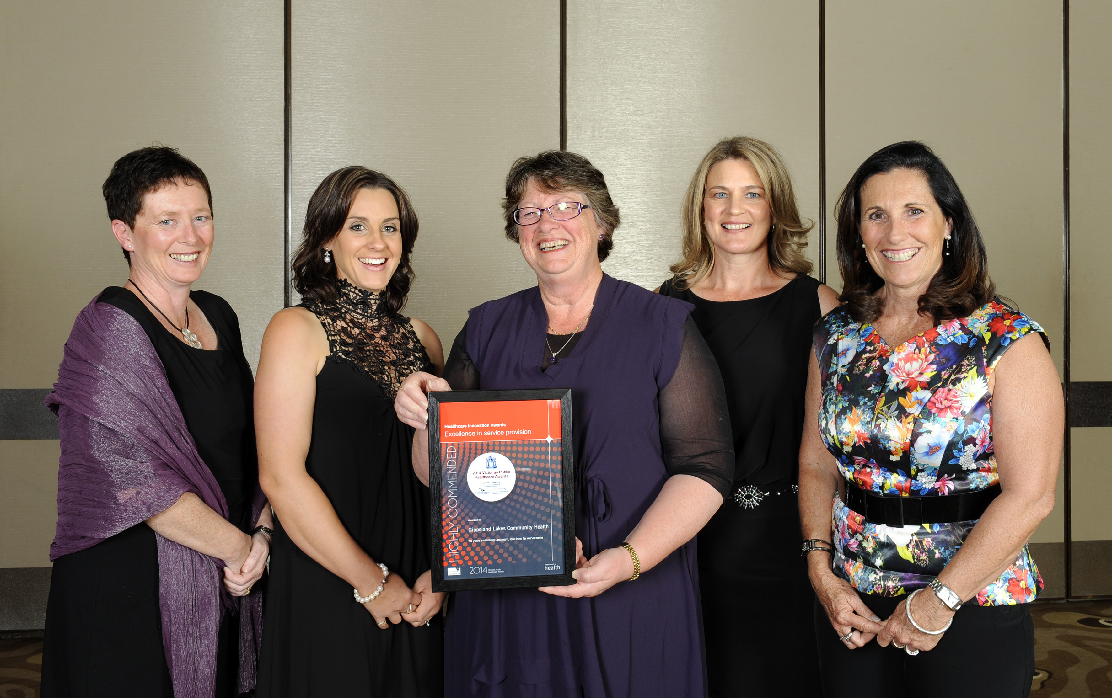 Award Night Healthcare Innovation Awards Excellence in Service Provision 2014