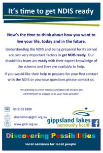 Are you NDIS ready [flyer]