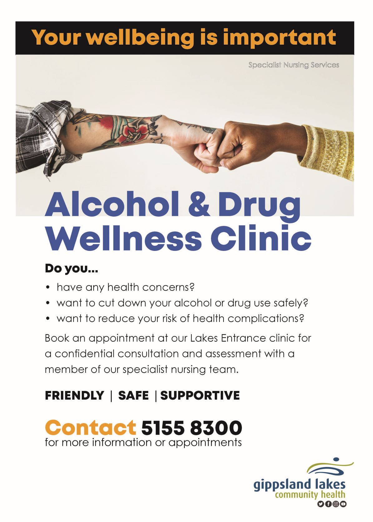 AOD Clinic Poster